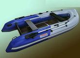 Лодка ПВХ MarkoBoats БАРРАКУДА МВ - 340 CK