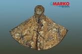 Плащ-накидка (пончо), желтый камыш