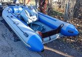 Надувная лодка SALMON 410
