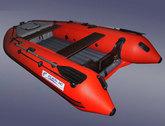 Надувная лодка SALMON 340